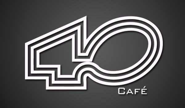 logo 40 cafe generico